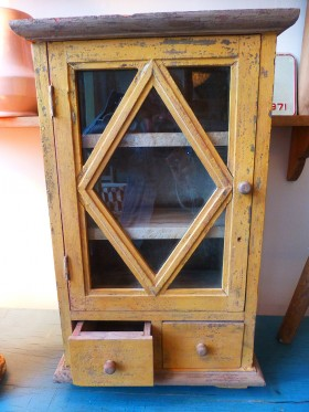 Small Distressed Cupboard